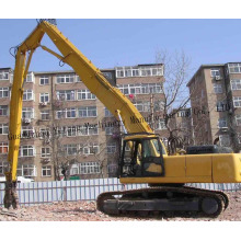 Construction Excavator Attachments Long Reach Boom And Stick For Hydraulic Breaker