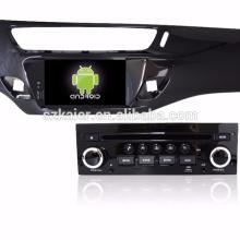 """7 """"lecteur dvd de voiture, usine directement! Quad core, GPS, radio, bluetooth pour c3"""