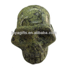 gemstone skull carvings 2""