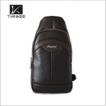 Fashion PU leather women/men chest bag sling bag