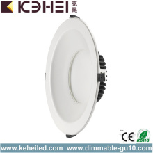 40W 10 Zoll High Power LED Downlights Dimmbar