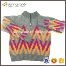 pure cashmere children pattern sweater