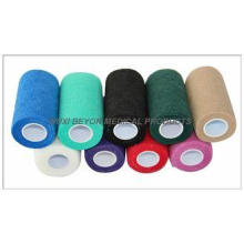 4 inch Non Woven Hand Tear Self Adhesive Bandage For Cow Eq