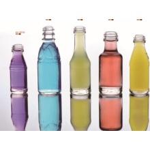 Bouteilles et brioches en verre cosmétique