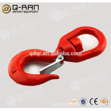 Carbon Steel Drop Forged Heavy Lifting Swivel Hook