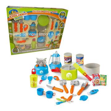 Бутик Playhouse Пластиковые игрушки-Little Explorer Установить кемпинг