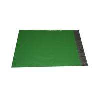 Non Intermediary Customizable Garment Packing Adhesive Seal Green Bag