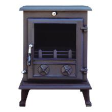 Poêle en fonte, cheminée (FIPA 017), poêle à bois