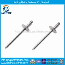 DIN7337 Нержавеющая сталь с закругленной головкой