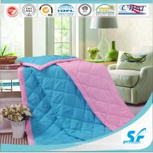 Patchwork Cotton Fabric Microfiber Fill Duvet Polyester Quilt Comforter