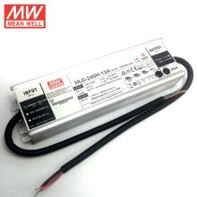 200 W LED Driver 12 V com UL cUL CB CE aprovado HLG-240H-12A MEANWELL Feito em Taiwan