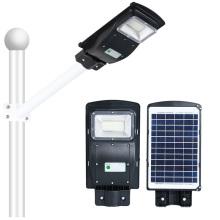 Lampadaire solaire tout-en-un IP65 d'extérieur