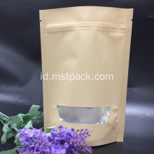 Single Color Stand Up Pouch Packaging Bag