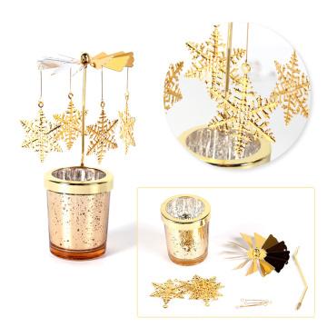 Rotary Spinning Teelicht Kerzenhalter