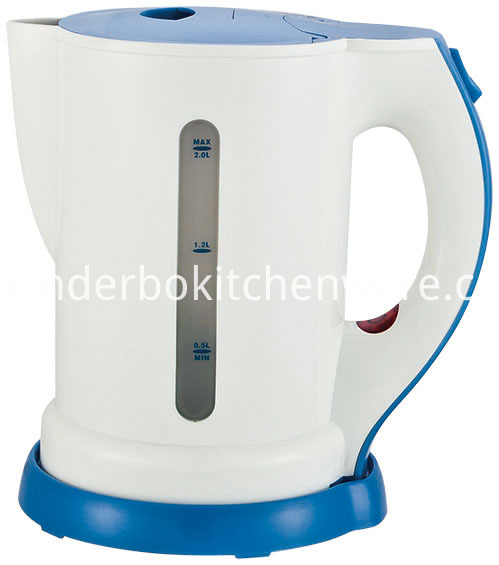 corded 1.7L plastic electric kettle