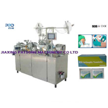 High Quality Fully Automatic Antiseptic Towelette Packaging Machinery