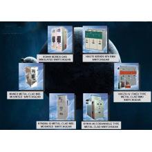 Распредустройство; Распределительное устройство с газовой изоляцией AC Hv (DXG-12)