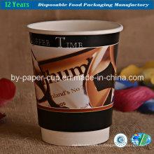 Tasses en papier avec logo en promotion
