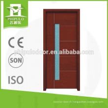 10% de réduction sur la Chine peignant des dessins de portes en bois modernes