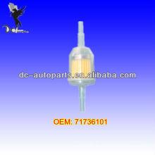71736101 Filtro de combustible diesel auto para Lada, Ford, Fiat, Citroen