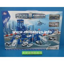 Heißesten Kinder Kunststoff Parkplatz Spielzeug Set (1029801)