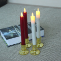 remote control Bright Realistic Flickering luminara taper candle set