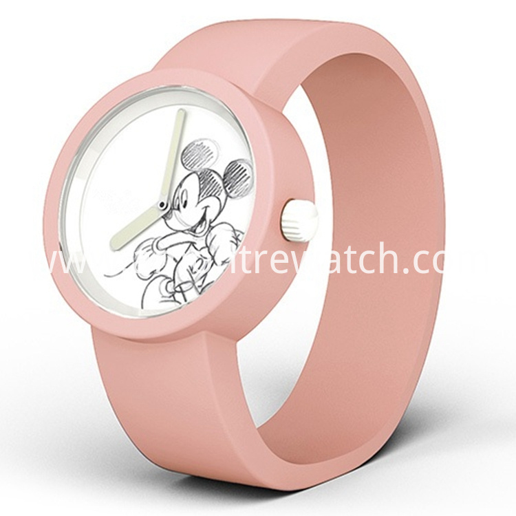 child watch pink colour