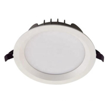 New ip20 ip44 8w 30w 4000k aluminium smart smd dimmable commercial anti glare recessed slim large cct led downlight