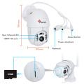 1080P 4X Zoom  PTZ IP WiFi Camera