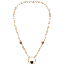 Fast Delivery for Circle Pendant Necklace 2018 Modern Gold Chain Pearl Necklaces export to Cayman Islands Factory