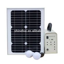 100W mini sistema solar para camping al aire libre