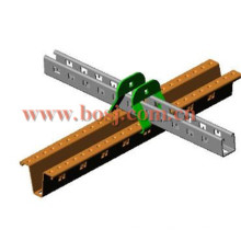 Solar Stand U Channel Roll formant la ligne de production de la machine Singpore
