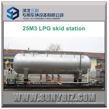 25 Metros Cúbicos LPG Dispenser Filler Skid Station