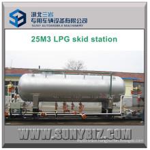 25 Cubic Meters LPG Dispenser Filler Skid Station