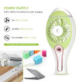 Mini Rechargeable Handheld Standing Fan with light