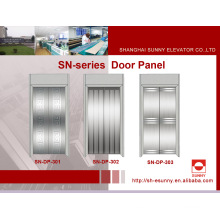 Panel de puerta de acero inoxidable para ascensor (SN-DP-301)