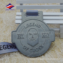 2017 Hot sales casting english text metal medal manufacture