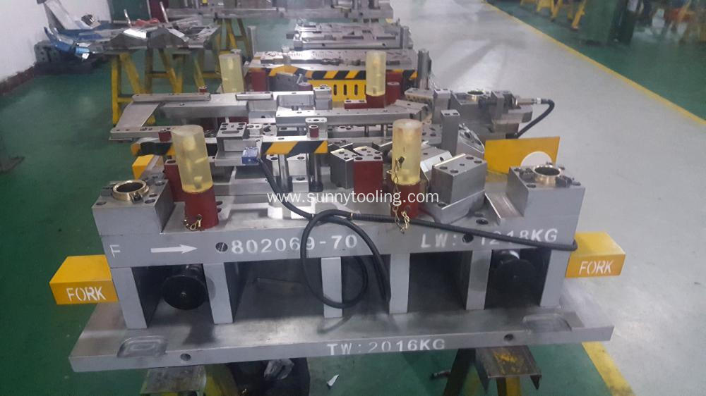 Customized Aluminum Stamping Moulding Parts