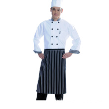 Cotton Executive Chef Coat With Piping (LSCW015)