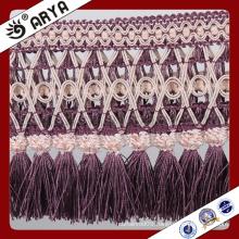 large beautiful tassel Fringe trim for Curtain decoration and lamp decoration