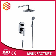 chrome shower set in-wall concealed shower set