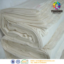Tẩy trắng vải trắng Voile trắng Polyester cuộn