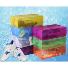 China Caja de plástico para zapatos (caja de zapatos de PVC)