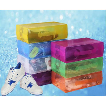 China-Plastikkasten für Schuhe (PVC-Schuhkarton)