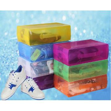 Китай пластиковая коробка для обуви (обувная коробка ПВХ)