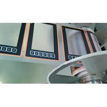Pulsador impermeable Teclado de membrana LCD personalizado
