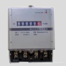 Plastikbasis Einphasiges elektronisches Kwh-Messgerät