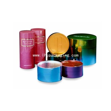 High Quality Round Cosmetic Packaging Box