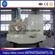 914-610mm Structure Building Sheet Arch Form Machine