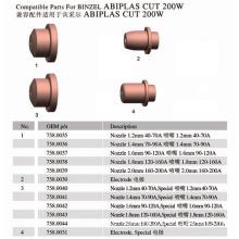Compatible Parts for Binzel Abiplas Cut 200W
